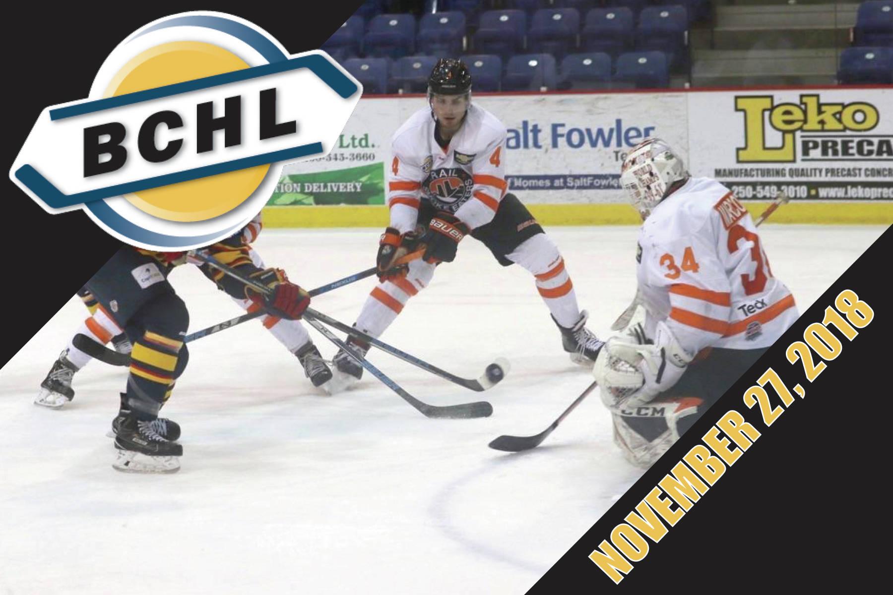 Around the BCHL: Chilliwack Chiefs lose starting goalie to injury